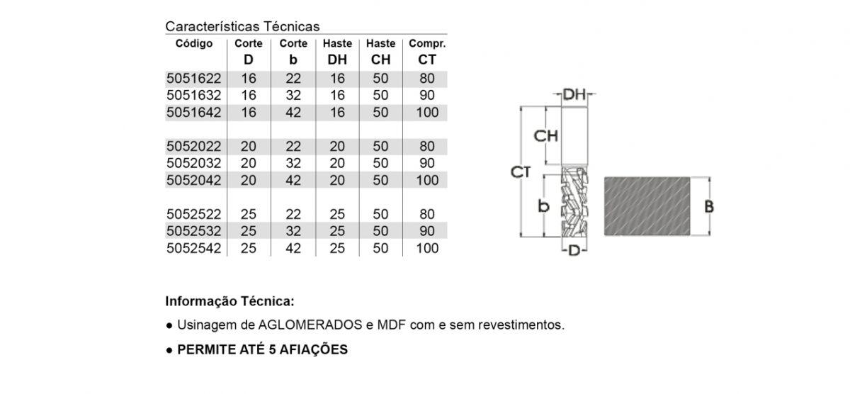 FRESA RECORTE CNC 3+3